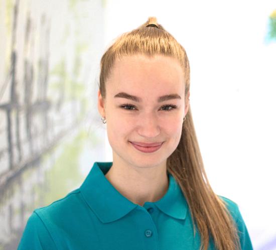 Lea-Sophia Siems - Auszubildende Medizinische Fachangestellte